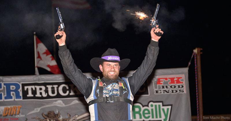 Dillard dials up Wild West Shootout Saturday loot