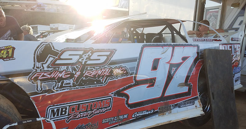 Dillard gets top-5 finish in COMP Cams Super Dirt Series at Boothill