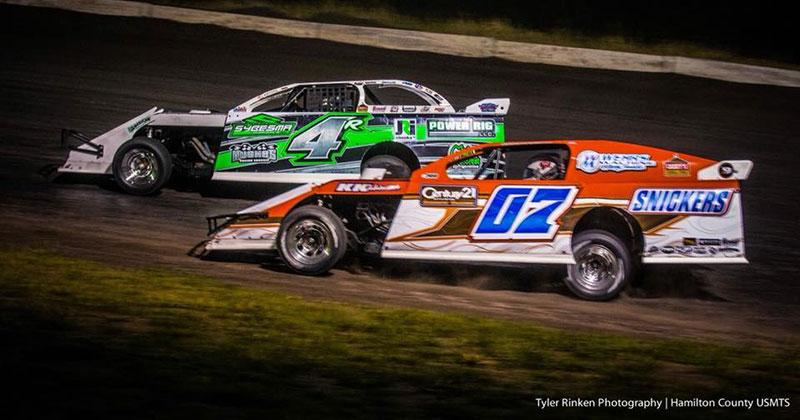 Crapser battles to seventh at Hamilton County Speedway
