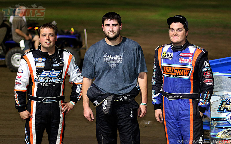 Thornton throttles to Thursday payday in USMTS Sooner Showdown opener