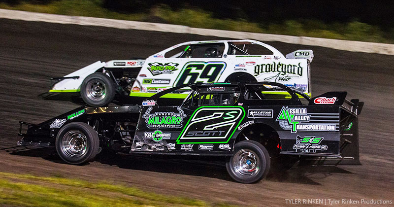 Scott sneaks by Schott for Hamilton County Speedway supremacy