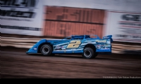 Ryan Gustin at the Wild West Shootout at Arizona Speedway in San Tan Valley, Ariz.
