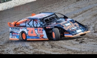 2nd Annual USMTS Chubbs Performance Midweek Modified Madness at the Ogilvie Raceway in Ogilvie, Minn., on Wednesday, June 14, 2017.