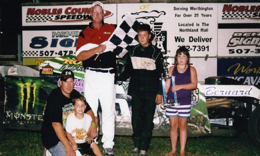 Noble County Speedway in Worthington, MN
