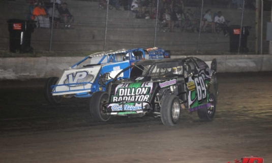 Mississippi Thunder Speedway first win this year
