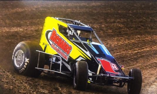 Wingless Sprint Car at U.S. 36 Raceway