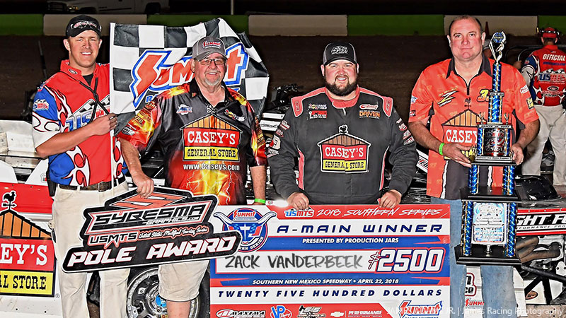 Victory for VanderBeek in Rancho Milagro Short Track Shootout finale